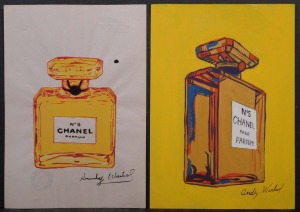Andy Warhol,  Attributed: Chanel Bottles