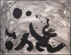 Adolph Gottlieb: Abstract Expressionist Composition