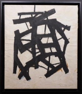 Manner of Franz Kline: Abstract Composition