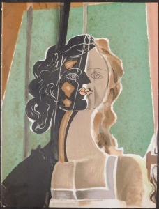 After Georges Braque: Figure (fragment)