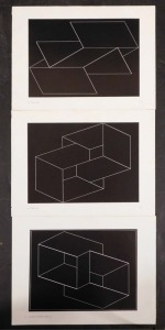 After Joseph Albers: Set of Three Lithographs