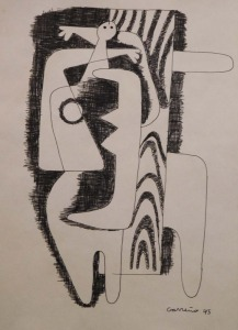 Mario Carreno: Cubist Woman 1945