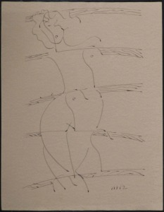 Man Ray: Standing Nude Woman