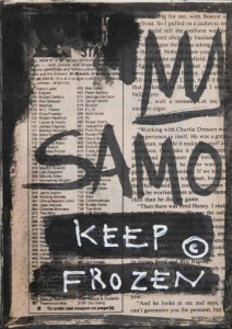 Jean-Michel Basquiat: Samo Keep Frozen