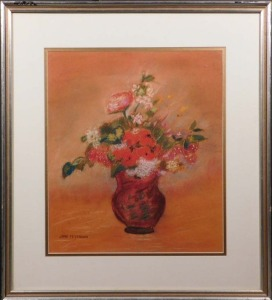 Jane Peterson: Pastel Floral Still Life
