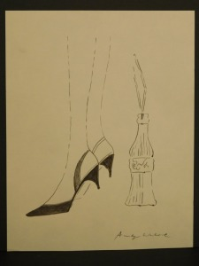 Andy Warhol: High Heels and Coke Bottle