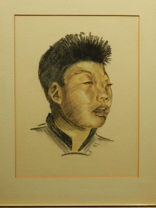 Portrait of an Asian Man