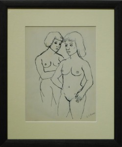 G.J. Rogers: Two Nude Women