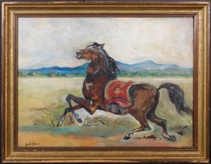Manner of Giorgio de Chirico: Cavallo