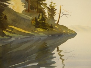 Stephanie Swanton Stark: Lake Scene