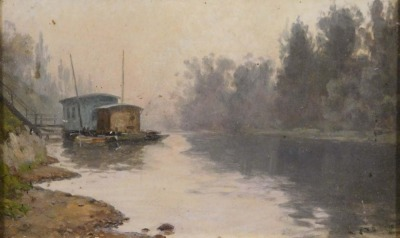 William Baptiste Baird: La Seine, Neuilly