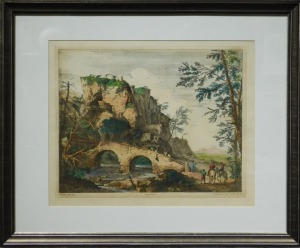 After Salvator Rosa: The Ruined Bridge