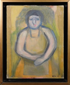 Win: Portrait of a Woman in an Apron