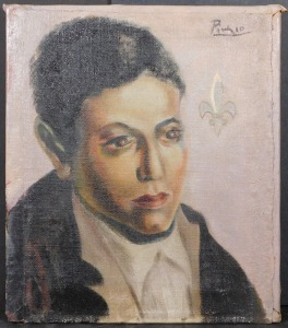 Pablo Picasso, Attributed/ Manner of: Self Portrait