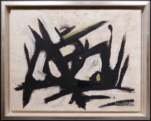 Franz Kline Attr: Abstract Composition