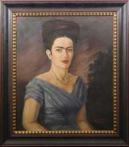 Frida Kahlo, Manner of/ Attributed: Self Portrait