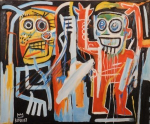 Jean-Michel Basquiat, Manner of: Dustheads