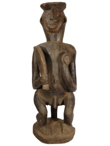 Seated Figure of a Warrior, Ibibio People, Nigeria