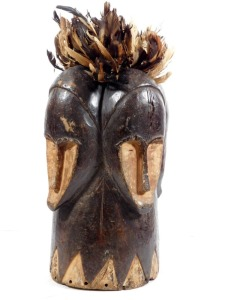 Ngontang Mask w/ 4 Faces, Fang People, Gabon