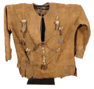 Hunter's Shirt with Amulets, Ibibio People, Nigeria