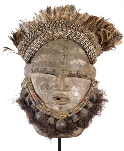 Elaborate Large Janus Mask, Dan People, Liberia