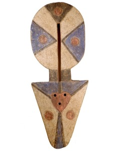Plank Mask, Nafana People, Ivory Coast