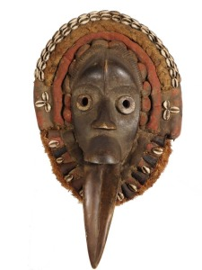 Bird Mask: Dan People, Liberia
