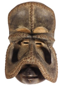 Gre Bush Spirit Mask: Guro/Bete People, Cote d'Ivoire