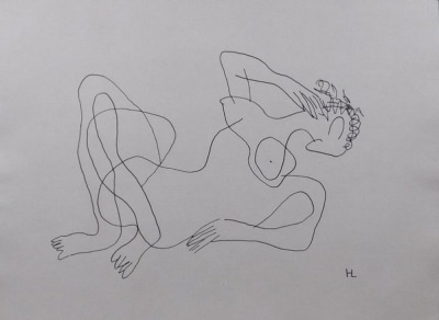 After Henri Laurens : Reclining Nude Woman