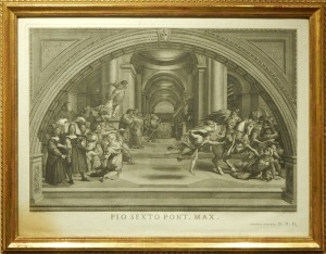Joannes Volpato after Raphael: The Expulsion of Heliodorus from the Temple