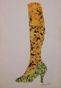 Andy Warhol Attr. Shoe With Leg