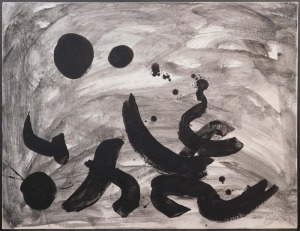 Adolph Gottlieb, Attributed: Abstract Expressionist Composition