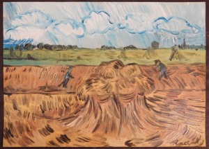 Vincent van Gogh, Manner of:  Countryside Study