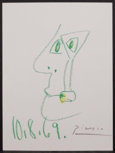 Pablo Picasso, Attributed/ Manner of: Visage