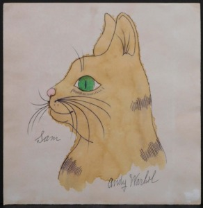 Andy Warhol, Attributed: Sam The Cat