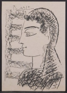 Pablo Picasso, Manner of/ Attributed:яPortrait of a Lady