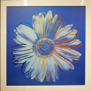 Andy Warhol: Daisy Series, Blue