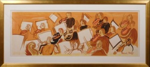Raoul Dufy: Orchestra