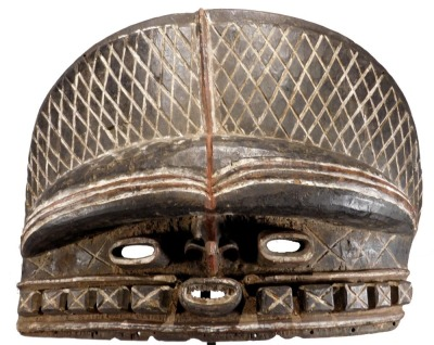 Large Ceremonial Mask, Batcham People, Cameroon
