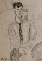 Amedeo Modigliani  Manner of: Portrait of Leopold Zborowski