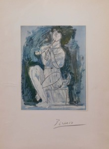 Pablo Picasso , After: Faun, Signed Lithograph