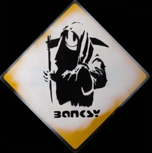 Banksy, Attributed: Grin Reaper
