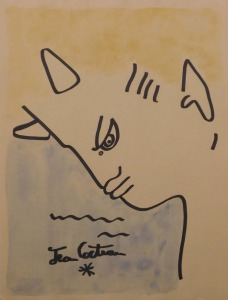 After Jean Cocteau: Faun by the Sea