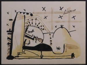 Pablo Picasso, Manner of:яLe Repos