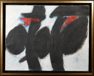 Manner of Robert Motherwell: Abstract Composition